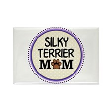 Silky Terrier Dog Mom Magnets