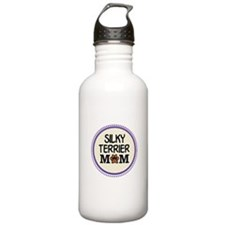 Silky Terrier Dog Mom Water Bottle