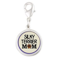 Silky Terrier Dog Mom Charms