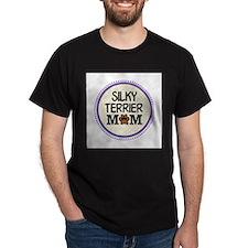 Silky Terrier Dog Mom T-Shirt