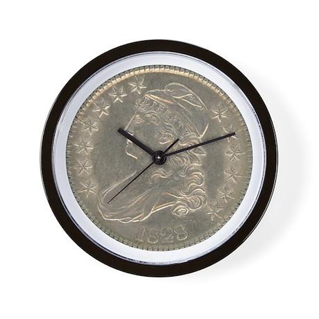 Bust Half Dollar Wall Clock