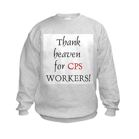 Thank Heaven CPS BRT Kids Sweatshirt