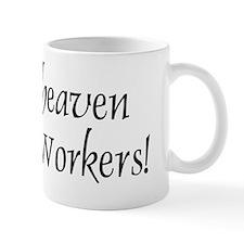 Thank Heaven CPS BRT Small Mugs