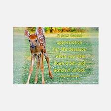 Baby Deer Rectangle Magnet