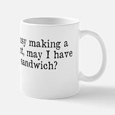 Political Statement Mug