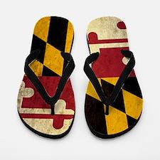 Grunge Maryland Flip Flops