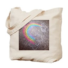 Chalk rainbow Tote Bag