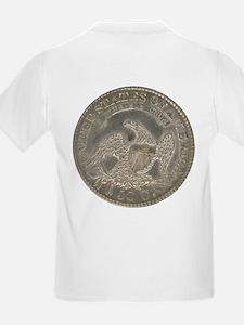 Bust Half Dollar Kids T-Shirt