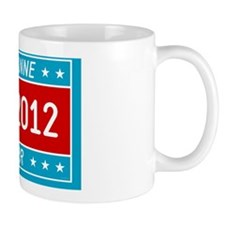 Roseanne Barr 2012 yard sign Mug