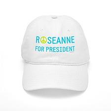 Roseanne for president peace sign Baseball Cap