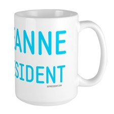 Roseanne for president peace sign Mug