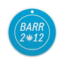 Barr 2012 Weed Round Ornament