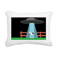 UFO Rectangular Canvas Pillow