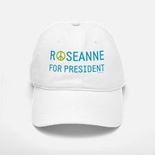 Roseanne for president Baseball Baseball Cap