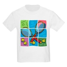 Tennis Puzzle Kids T-Shirt