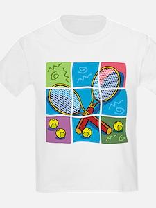 Tennis Puzzle Kids T-Shirt