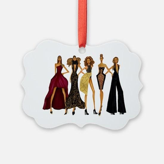 Group Divas Ornament