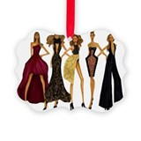 Fashion model Picture Frame Ornaments