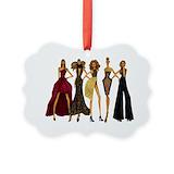 Fashion model Picture Frame Ornaments