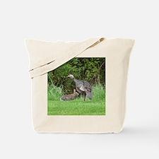 Turkey and Rabbit Tote Bag