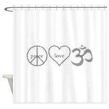 Cute Zen buddhism Shower Curtain