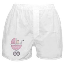 Vintage Chick New Baby Girl Boxer Shorts