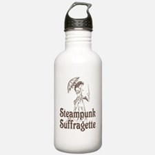 Steampunk Suffragette Water Bottle