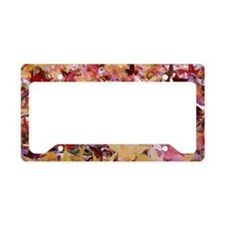 Fire leaves, License Plate Holder