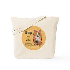 Heres A Cat Tote Bag