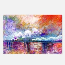 Claude Monet Charing Cros Postcards (Package of 8)