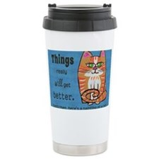 Heres A Cat Travel Mug