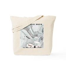 cps 1 back Tote Bag