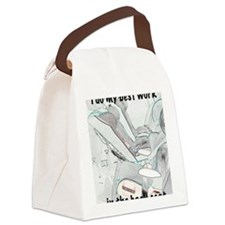 cps 1 back Canvas Lunch Bag