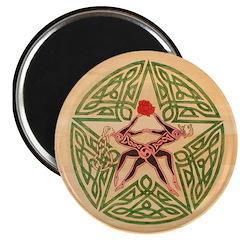 Lover's Pentagram Magnet