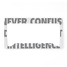 educIntelligence1C License Plate Holder