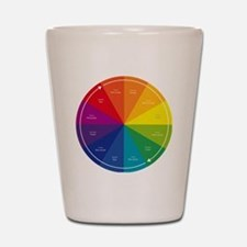 The Color Wheel Shot Glass