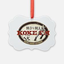 KOKE FM LOGO Ornament