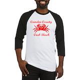Crab shack Baseball Tee