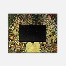 Gustav Klimt Garden Paths With Chick Picture Frame