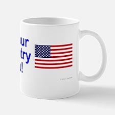 Christians are Americans too bumper sti Mug