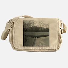 Vietnam war memorial wall reflection Messenger Bag