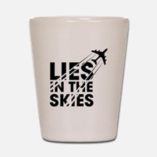 Chemtrails Shot Glass