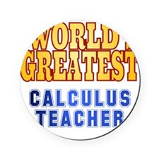 World's Greatest Calculus Teacher Cork Coaster