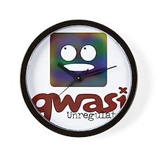 Unregulated Qwasi TV Wall Clock