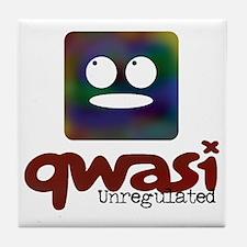 Unregulated Qwasi TV Tile Coaster