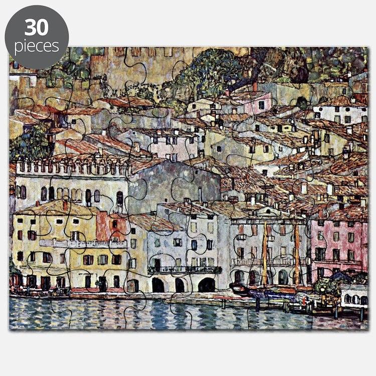 Malcesine on Lake Garda Puzzle