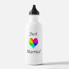 Just Married Water Bottle