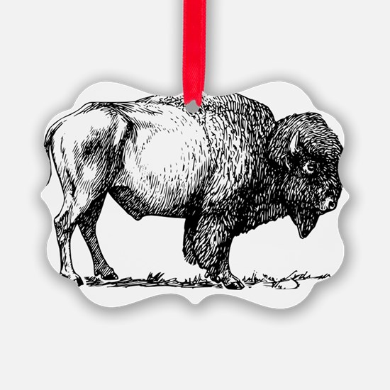 Buffalo/Bison Shirt Ornament
