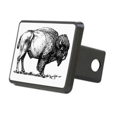 Buffalo/Bison Shirt Hitch Cover