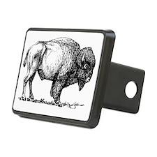 Buffalo/Bison Shirt Rectangular Hitch Cover